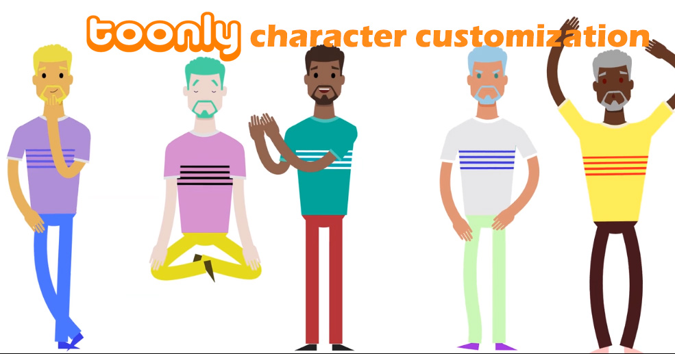 toonly character customizing